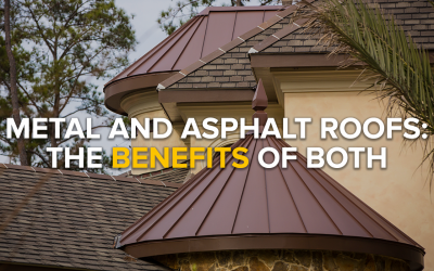 Metal and Asphalt Roofs: The Benefits of Both