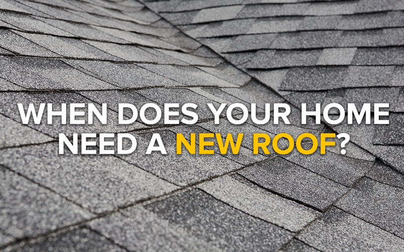 When Does Your Home Need a New Roof?
